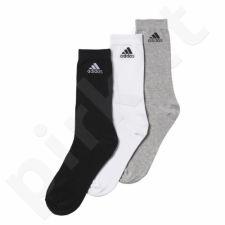 Kojinės Adidas Performance Crew Thin 3 poros AA2331