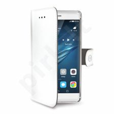 Huawei Ascend P9 atverčiamas dėklas Wally Celly baltas