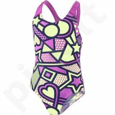 Maudymosi kostiumėlis Speedo Solar Tribe Allover Splashback Junior 8-07386B512