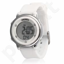 Vaikiškas, Moteriškas laikrodis SKMEI AD1100 Kids White