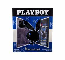 Playboy King of the Game For Him, rinkinys tualetinis vanduo vyrams, (EDT 60 ml + dezodorantas 150 ml)