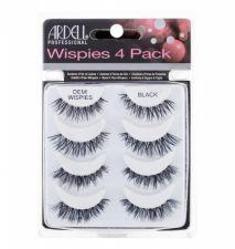 Ardell Wispies, Demi Wispies, dirbtinės blakstienos moterims, 4pc, (Black)