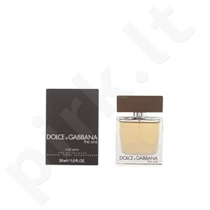 DOLCE AND GABBANA THE ONE MEN edt  30 ml vyrams