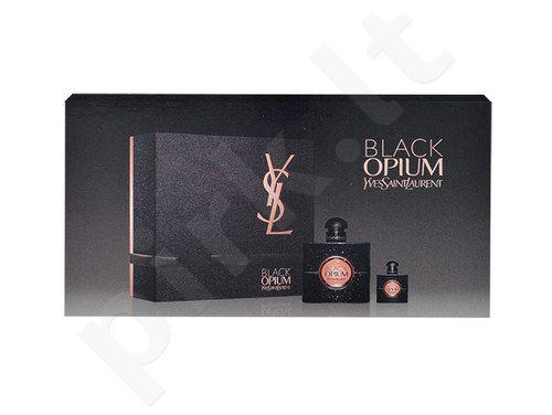 Yves Saint Laurent Black Opium rinkinys moterims, (EDP 50ml + 7,5ml EDP)