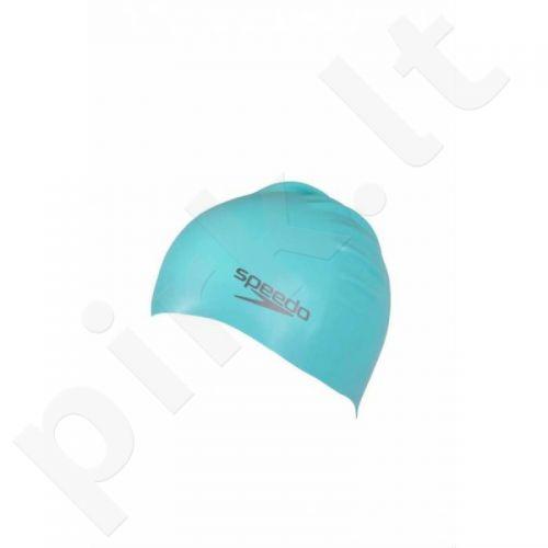 Maudymosi kepuraitė  Speedo Plain Moulded Silicone Cap 8-709847095