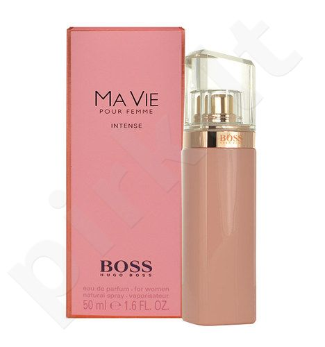 hugo boss boss ma vie pour femme intense edp moterims 50ml parduotuv. Black Bedroom Furniture Sets. Home Design Ideas