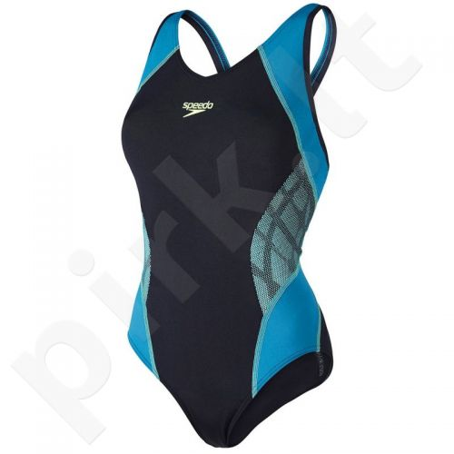 Maudymosi kostiumėlis Speedo Fit Splice Muscleback AF W 8-10379A604