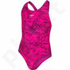 Maudymosi kostiumėlis Speedo Boom Allover Splashback Junior 8-10843B352