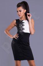 Emamoda suknelė - juoda 7810-2