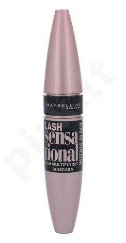 Maybelline Lash Sensational blakstienų tušas, kosmetika moterims, 9,5ml, (Intense Black)