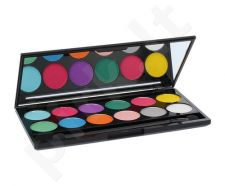 Sleek MakeUP I-Divine akių šešėliai Palette, kosmetika moterims, 13,2g, (730 Ultra Mattes V1 Brights)