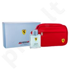 Ferrari Scuderia Ferrari Light Essence, rinkinys tualetinis vanduo vyrams, (EDT 125 ml + kosmetika krepšys)