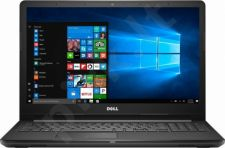 Dell Inspiron 3567 15,6'' HD AG Core i3-7130U/6GB/SSD 256GB/BT/DVD/Win10 Repack