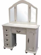 Makiažo staliukas baltos sp.
