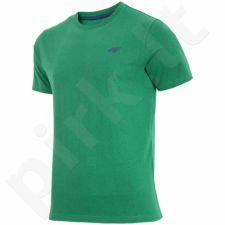 Marškinėliai 4f M H4L17-TSM002 žalio atspalvio