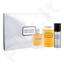 Trussardi Riflesso rinkinys vyrams, (EDT 100 ml + dušo želė 200 ml + dezodorantas 100 ml)