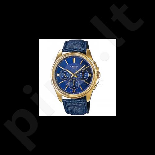 Vyriškas laikrodis CASIO MTP-E304GBL-2AVEF