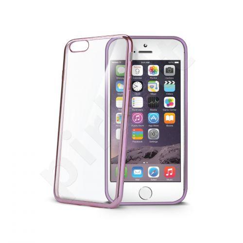 Apple iPhone 6/6S nugarėlė LASER Celly purpurinė