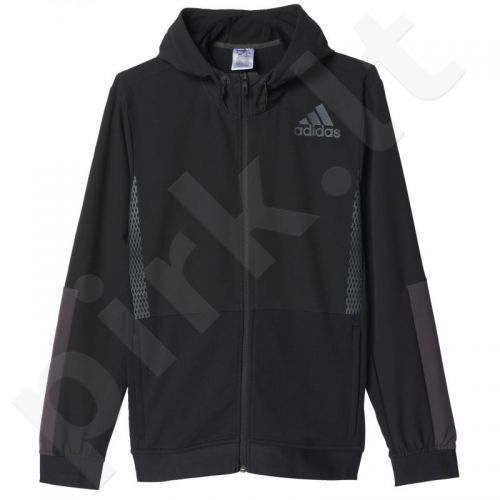 Bliuzonas  Adidas Workout Full Zip Hood M AZ1290
