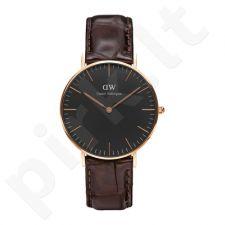 Laikrodis DANIEL WELLINGTON CLASSIC BLACK DW00100140