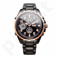 Vyriškas laikrodis SKMEI AD1021 Golden