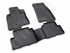 Guminiai kilimėliai 3D MITSUBISHI Pajero III 5D 1999-2006, 4 pcs. /L48044