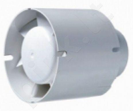 Ventiliatorius buitinis kanalinis TUBO100 su laikmačiu