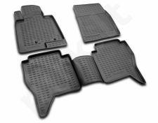 Guminiai kilimėliai 3D MITSUBISHI Pajero IV 2006->, 4 pcs. /L48049