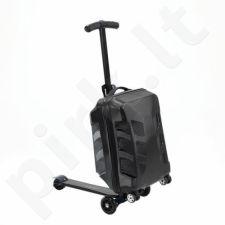 Paspirtukas su lagaminu Nils Extreme BLACK HTF06