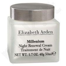 Elizabeth Arden Millenium Night Renewal kremas, kosmetika moterims, 50ml