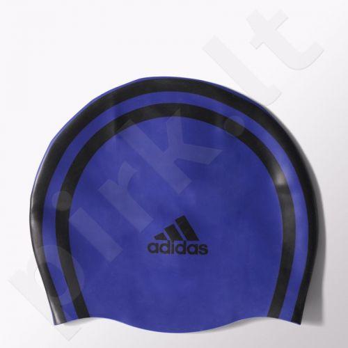 Maudymosi kepuraitė  Adidas Silicone 3 Stripes Cap S15191