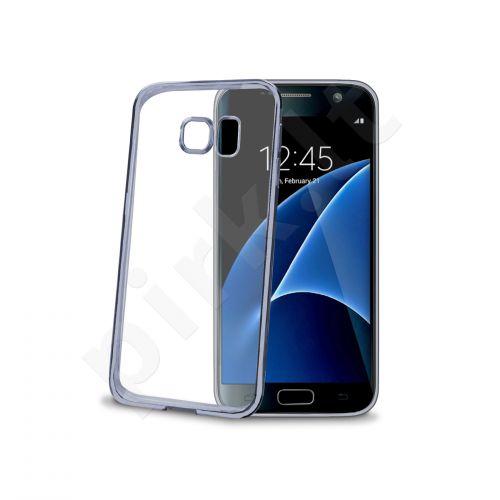 Samsung Galaxy S7 nugarėlė LASER Celly mėlyna