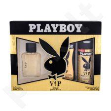 Playboy VIP rinkinys vyrams, (EDT 60 ml + dušo želė 250 ml + dezodorantas 150 ml)