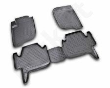Guminiai kilimėliai 3D MITSUBISHI Pajero Sport 2008-2012, 4 pcs. /L48055