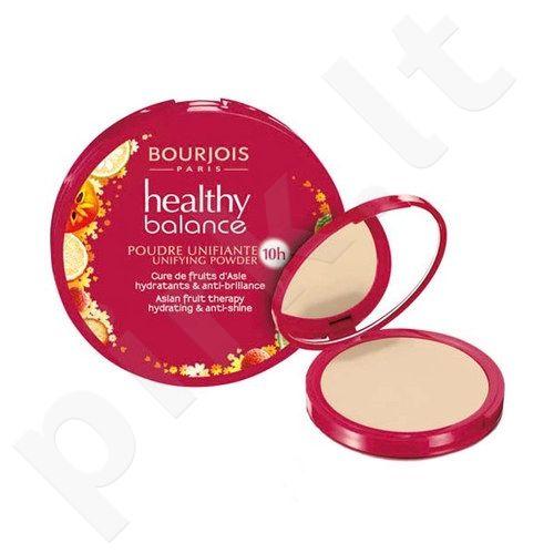 BOURJOIS Paris Healthy Balance Unifying pudra, kosmetika moterims, 9g, (53 Light Beige)