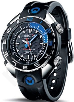 Laikrodis Sector   Shark Master Marine. Swis Made. chronografasgrafas or   version.  . 100 ATM