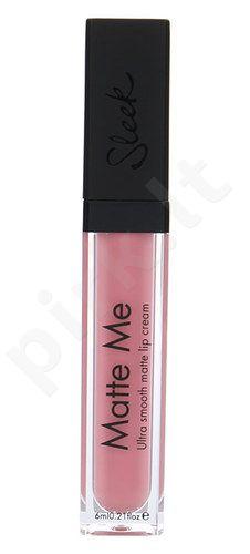 Sleek MakeUP Matte Me lūpų kremas, kosmetika moterims, 6ml, (435 Petal)