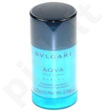 Bvlgari Aqva Marine, pieštukinis dezodorantas vyrams, 75ml