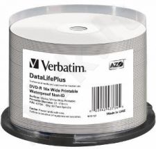 DVD-R Verbatim [ spindle 50 | 4.7GB | 16x | wide glossy ]