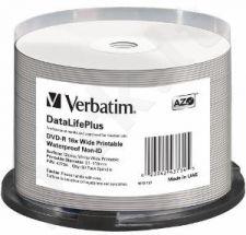 DVD-R Verbatim [ spindle 50 | 4.7GB | 16x | wide glossy ]