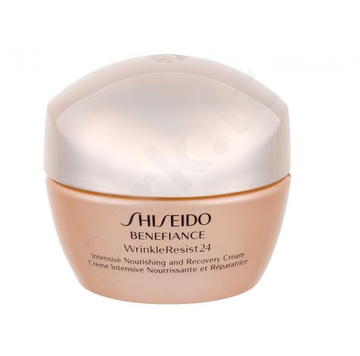 Shiseido Benefiance Wrinkle Resist 24, Intensive, dieninis kremas moterims, 50ml