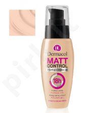 Dermacol Matt Control MakeUp (1), 30ml, makiažo pagrindas