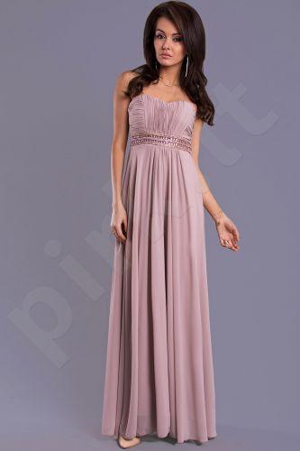 EVA&LOLA suknelė - ruda 7909-1