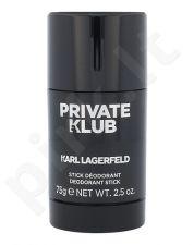 Karl Lagerfeld Karl Lagerfeld Private Klub, pieštukinis dezodorantas vyrams, 75ml