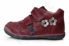 D.D. step raudoni batai 22-27 d. da031300