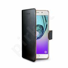 Samsung Galaxy A5(2016) atverčiamas dėklas Wally Celly juodas