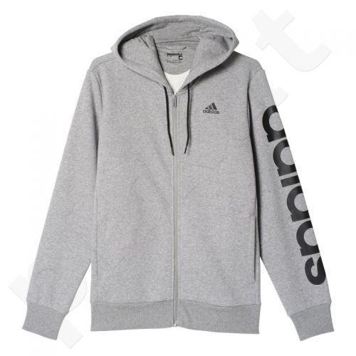 Bliuzonas  Adidas Sports Essentials Linear Full Zip Hood B M B49908