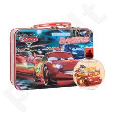 Disney Cars rinkinys vaikams, (EDT 100 ml +  lakštinio metalo dėžutė)