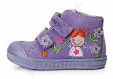 D.D. step violetiniai batai 22-27 d. da03171a