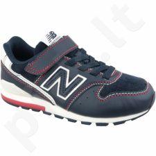 Sportiniai bateliai  New Balance Jr YV996BB juodas